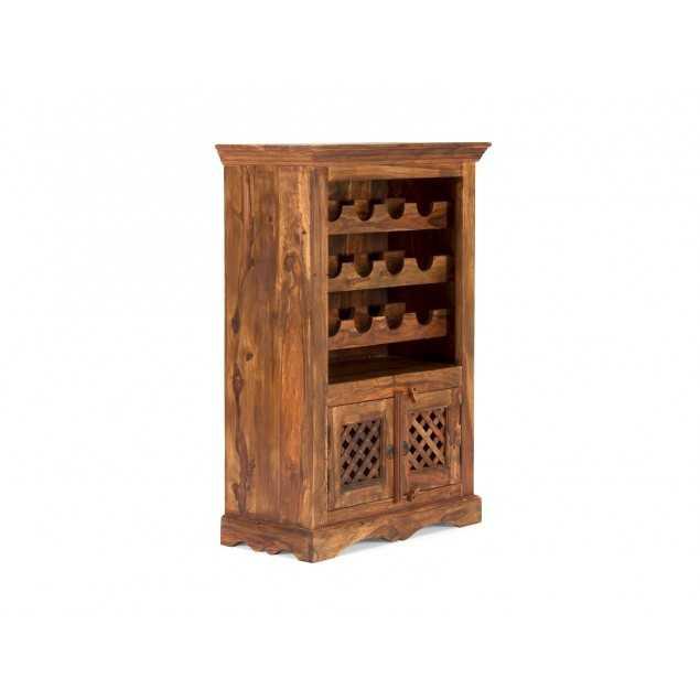 Stojan na víno dřevěný z palisandrového dřeva