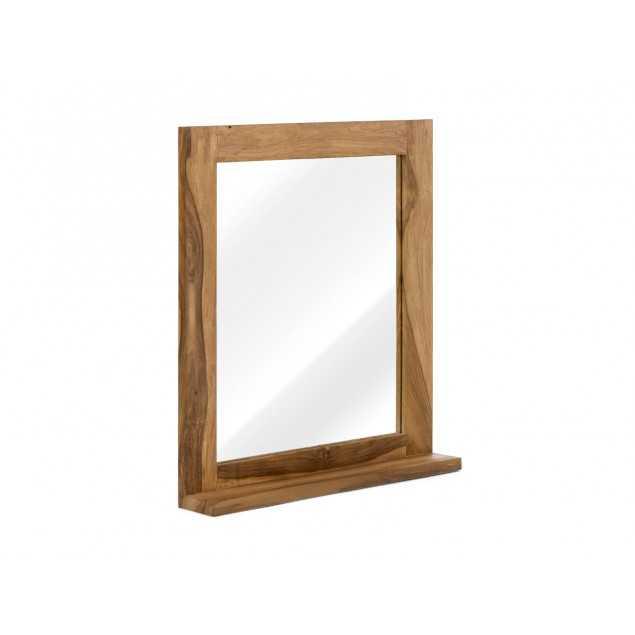 Zrcadlo s masivním rámem z palisandru Venezie