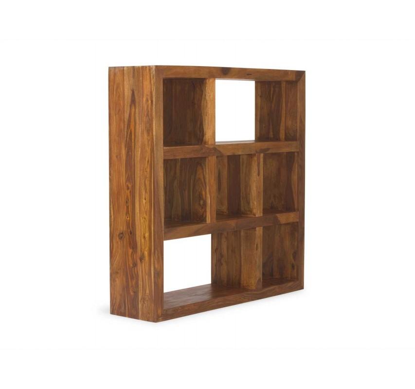 Moderní knihovna z palisandrového dřeva Square