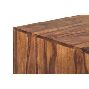 Koloniální TV stolek z palisandrového dřeva  Square