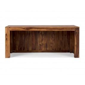 Dřevěný psací stůl z palisandru Square