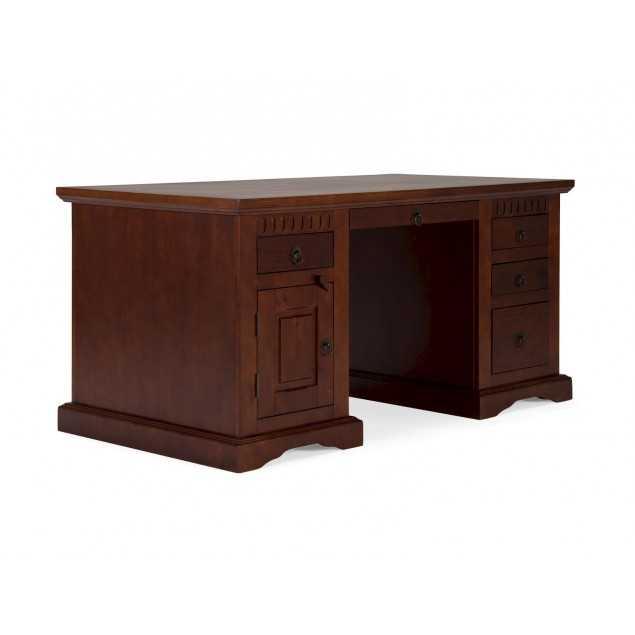 Psací stůl 150x85 koloniální dřevěný nábytek Bradford