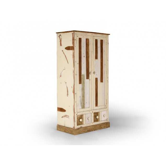 Šatní skříň z exotického dřeva Charles