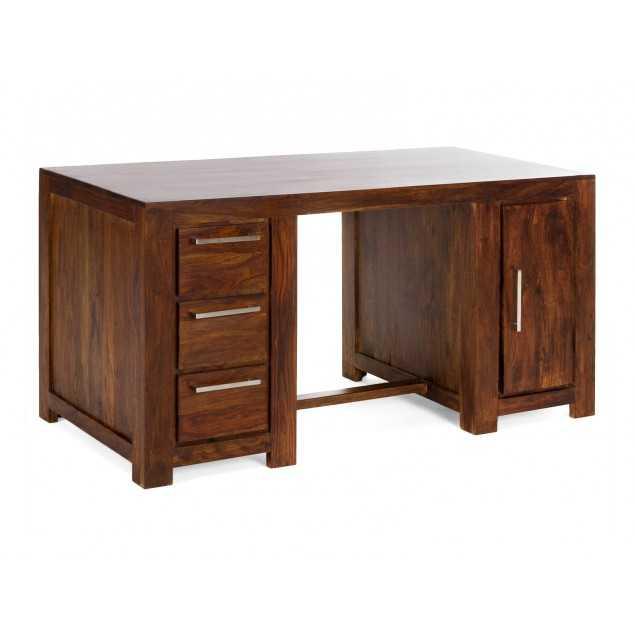 Masivní psací stůl z palisandrového dřeva Kashmir