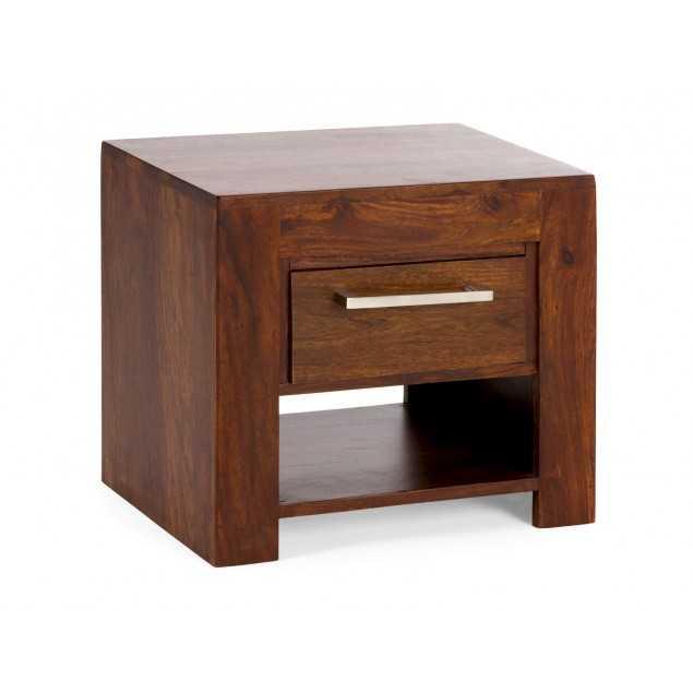 Noční stolek z masivního palisandrového dřeva