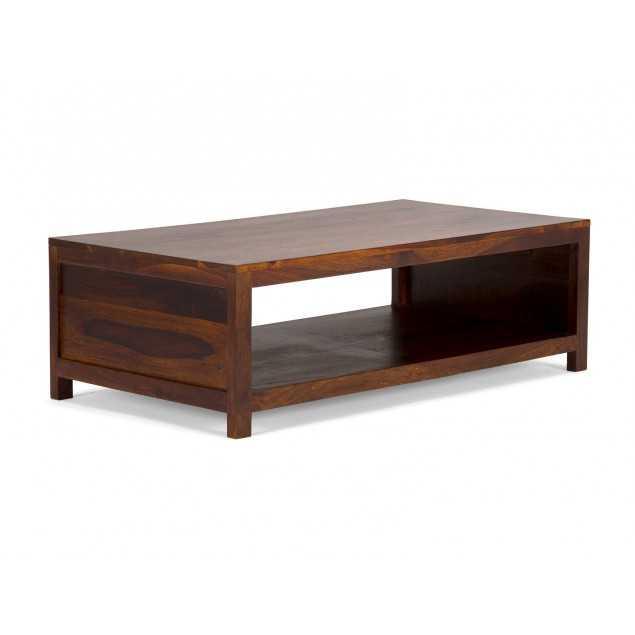 dřevěný konferenční stolek