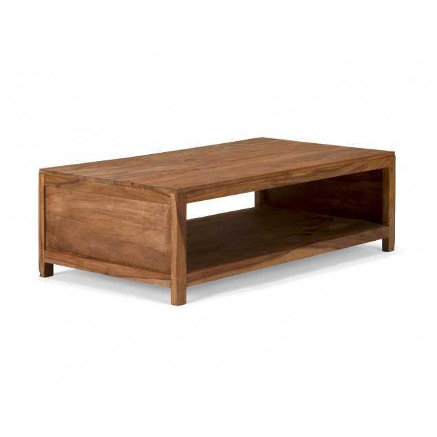 Palisandrový stolek dřevěný stolek