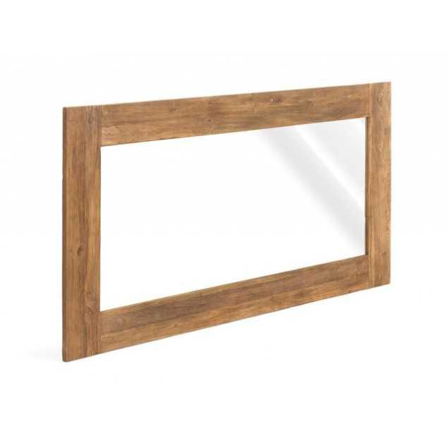 Dřevěné zrcadlo teakové Mojo