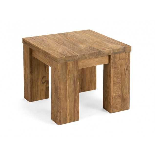 Dřevěný odkládací stolek z masivu Mojo