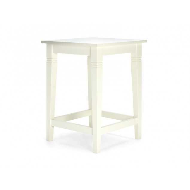 Bílý barový stolek Jodpur