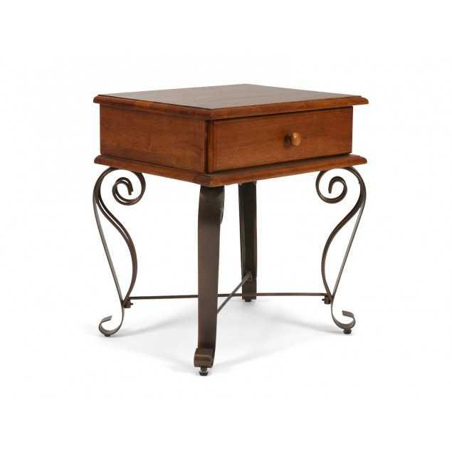 Elegantní noční stolek hnědý Constantin