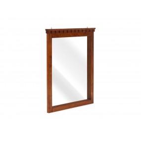 Hnědá komoda se zrcadlem Constantin