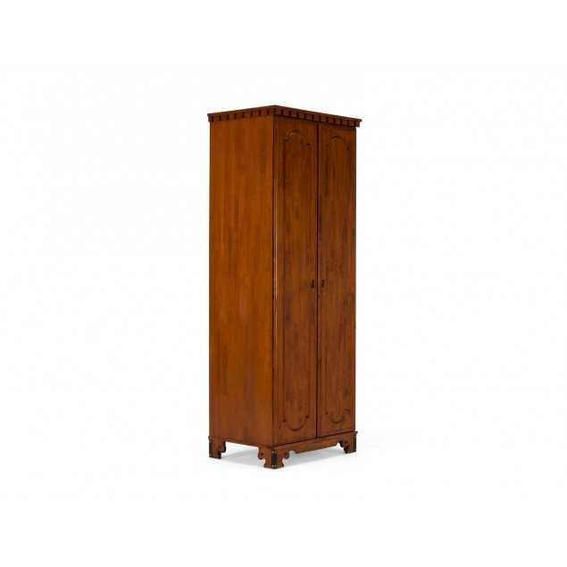Hnědá šatní skříň 2 dveřová Constantin