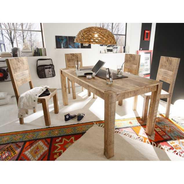 Jídelní set se 6 židlemi Kalkata