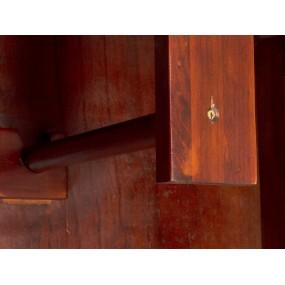 Předsíňová šatní skříň masivní Jodpur hnědá