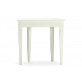 Bílý toaletní stolek z masivu Jodpur