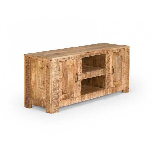 Masivní TV stolek z mangového dřeva Kalkata