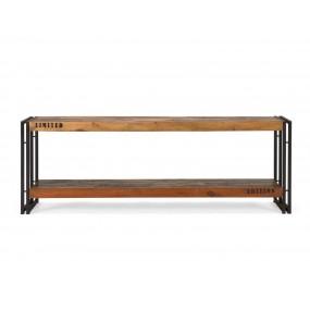 Barevný tv stolek z teaku Ontario 160 cm