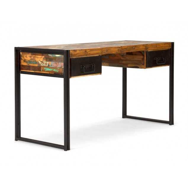 Dřevěný psací stůl exotický Ontario