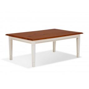 Bílý konferenční stolek 115x75 Gotland