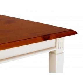 Bílý konferenční stolek 75x75 Gotland