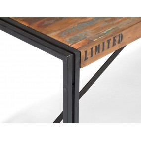 Retro lavice z exotického dřeva Ontario