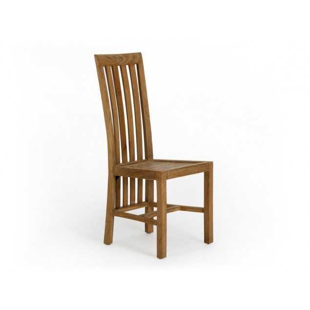 Masivní dřevěná židle z teaku Casablanca