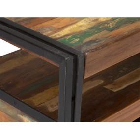 Starožitný barevný televizní stolek Ontario