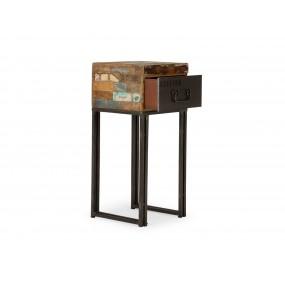 Telefonní stolek z exotického dřeva Ontario