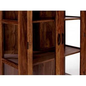 Masivní vitrína palisandr Rosewood