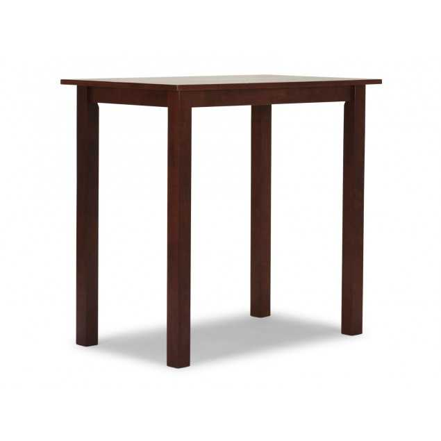 Barový stůl Milano z masivního kaučukovníku