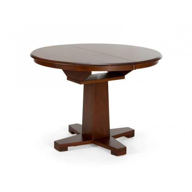 Dřevěný jídelní stůl 106cm rozkládací Milano