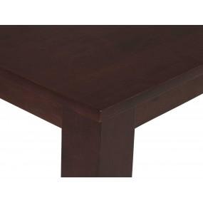 Dřevěný jídelní stůl masivní gumovník Milano
