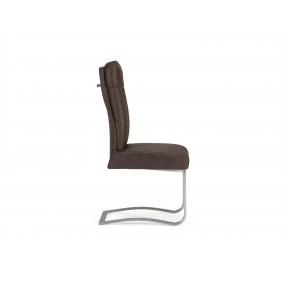 Židle z broušené kůže Boyan