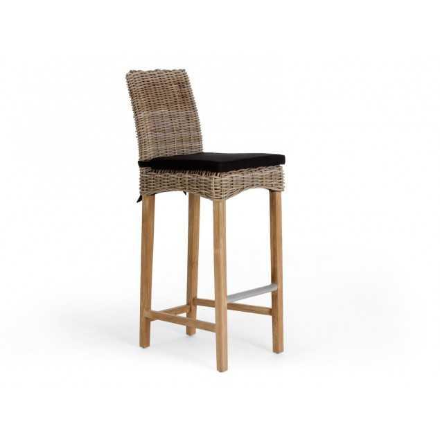 Barová židle z ratanu Casablanca