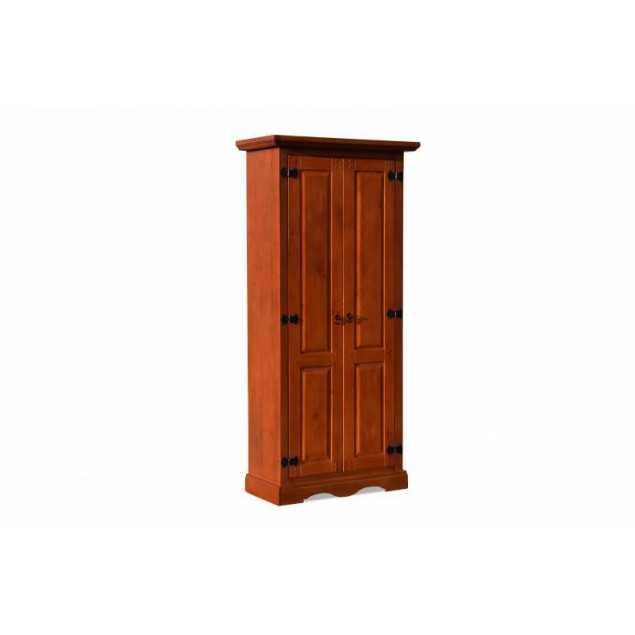 Dřevěná šatní skříň rustikální Glory