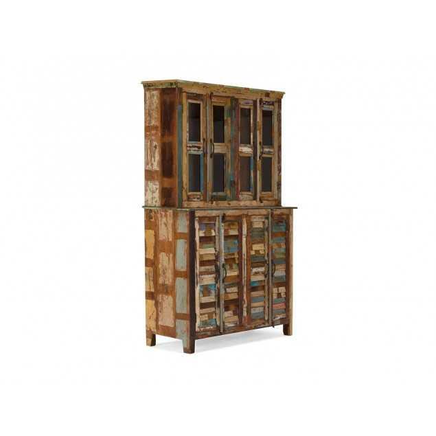 Starožitná dřevěná vitrína Agra