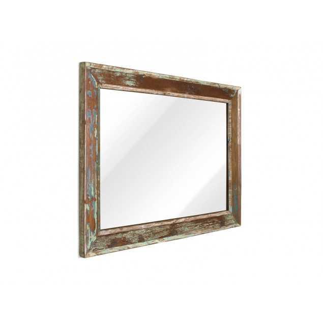 Starožitné zrcadlo v masivním rámu 100x138