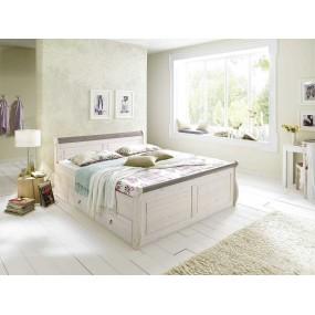 Borovicová postel z masivu Komfort Harald
