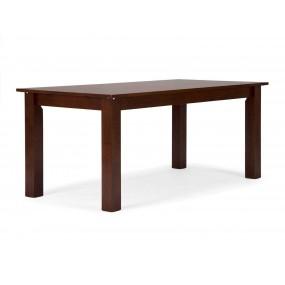 Rozkládací jídelní stůl z masivního dřeva Milano