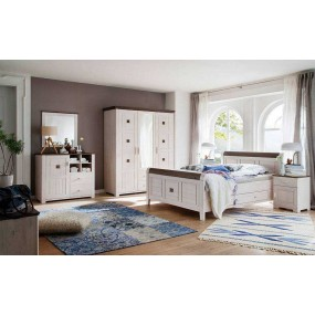 5-dveřová šatní skříň Malmö