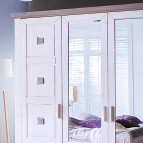6-dveřová šatní skříň Malmö