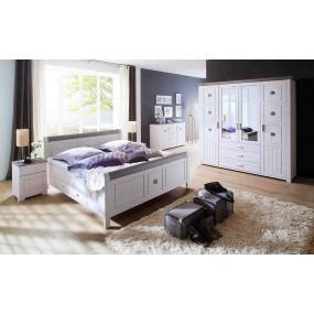 Dřevěná postel Molde