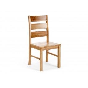 Dřevěná židle z masivního...