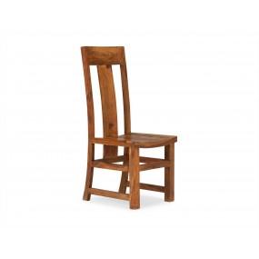Dřevěná židle z palisandru...