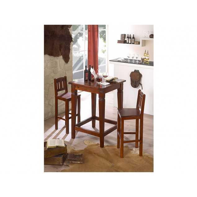 Barový stolek s 2 barovými židle Jodpur