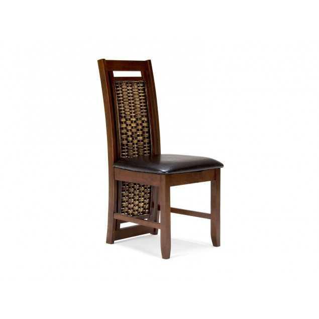 Koloniální hnědá židle Oxaca