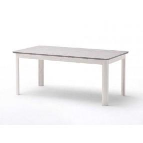 Bílý jídelní stůl Mälmo