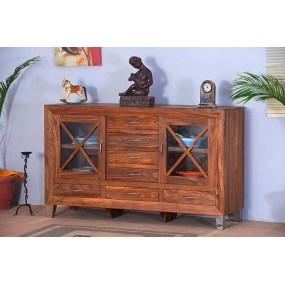 Dřevěný příborník z masivu Orissa