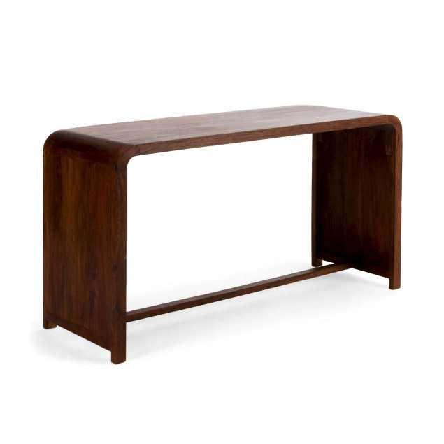 Dřevěný psací stůl z palisandru Maras
